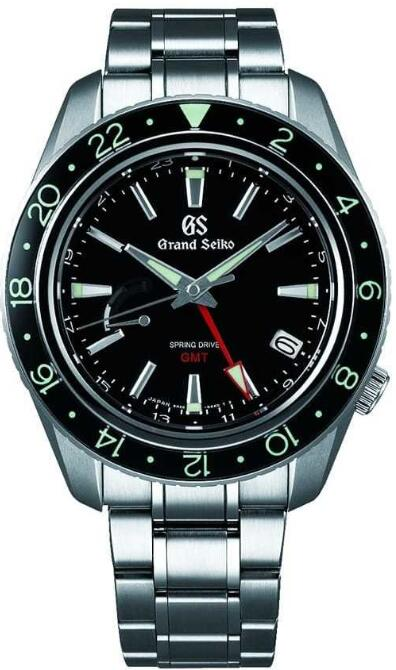 Grand Seiko Spring Drive GMT SBGE201 Replica Watch