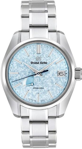 Grand Seiko SPRING DRIVE ICE BLUE DIAL SBGA387 Replica Watch