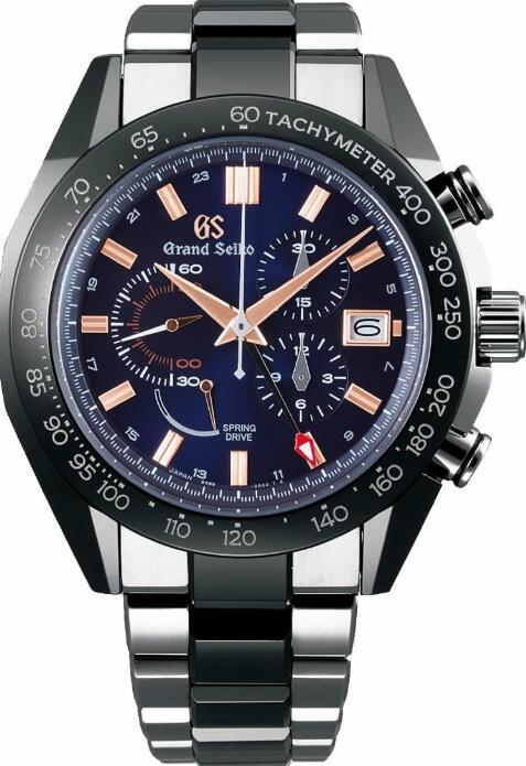 Grand Seiko BLACK CERAMIC SBGC219 Replica Watch