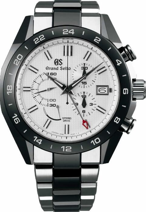 Grand Seiko BLACK CERAMIC SBGC221 Replica Watch