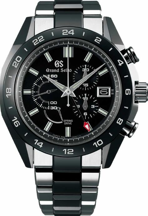 Grand Seiko BLACK CERAMIC SBGC223 Replica Watch