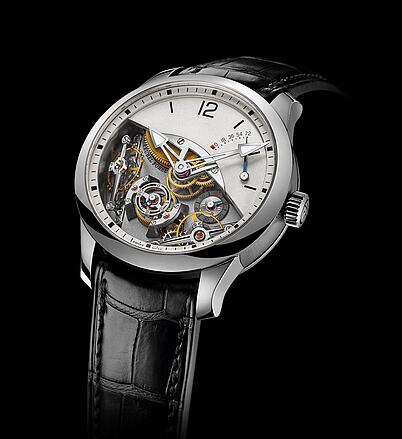 Greubel Forsey Double Balancier White gold Replica Watch