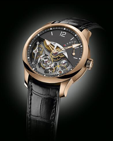 Greubel Forsey Double Balancier red gold Replica Watch