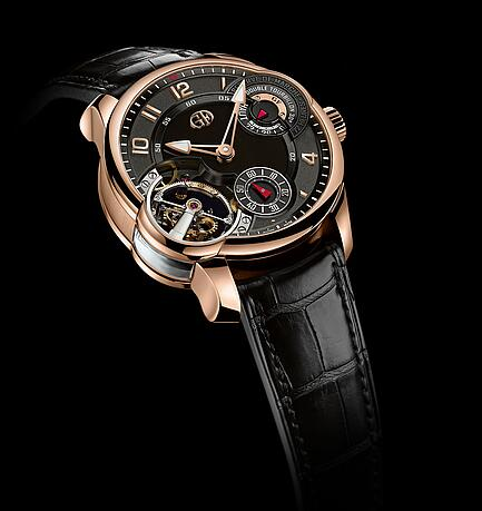 Greubel Forsey Double Tourbillon 30 Asymetrique red gold Replica Watch