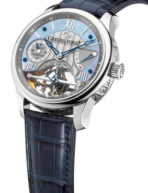 Greubel Forsey Double Tourbillon 30 Platinum Replica Watch
