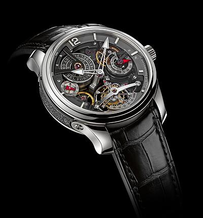 Greubel Forsey Double Tourbillon 30 Technique Bi-color Platinum Replica Watch