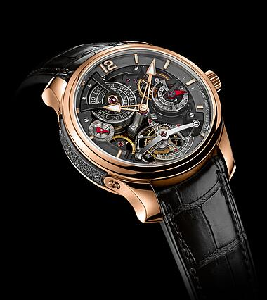Greubel Forsey Double Tourbillon 30 Technique Bi-color red gold Replica Watch