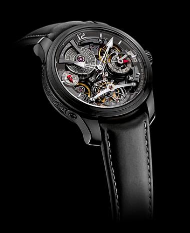 Greubel Forsey Double Tourbillon 30 Technique Black Replica Watch