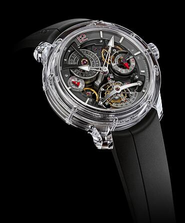 Greubel Forsey Double Tourbillon 30 Technique Sapphire Replica Watch