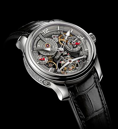 Greubel Forsey Double Tourbillon 30 Technique White gold Replica Watch