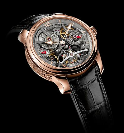Greubel Forsey Double Tourbillon 30 Technique red gold Replica Watch