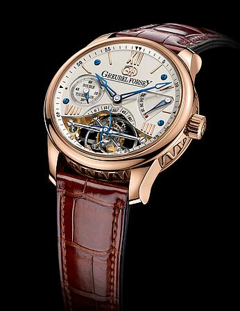 Greubel Forsey Double Tourbillon 30 red gold Silver Replica Watch