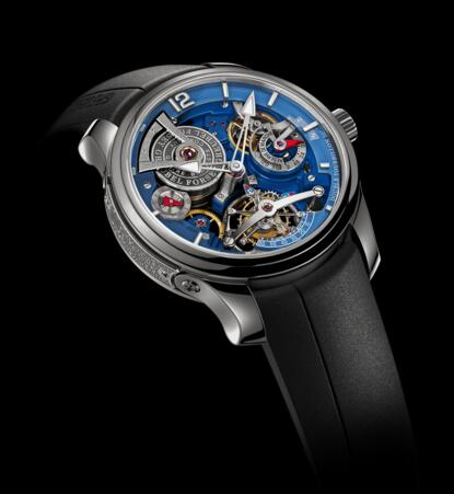 Greubel Forsey Double Tourbillon Technique Blue Titanium Replica Watch