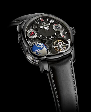 Greubel Forsey GMT Black Titanium Replica Watch