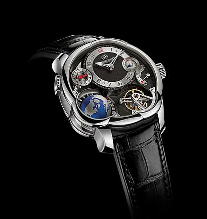 Greubel Forsey GMT Platinum Replica Watch