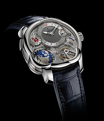 Greubel Forsey GMT White gold Replica Watch