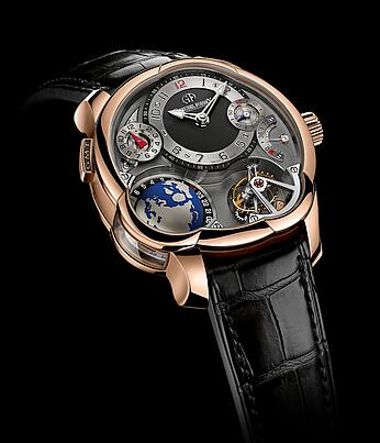Greubel Forsey GMT red gold Replica Watch