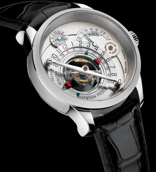 Greubel Forsey Invention Piece 1 Platinum Replica Watch