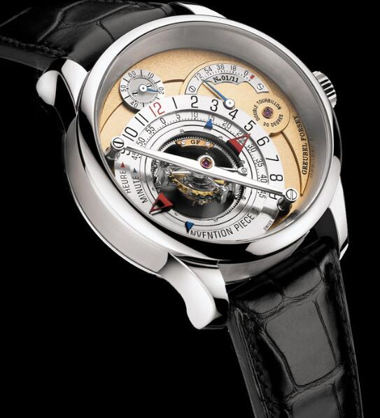 Greubel Forsey Invention Piece 1 White gold Replica Watch