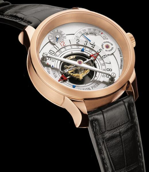 Greubel Forsey Invention Piece 1 red gold Replica Watch