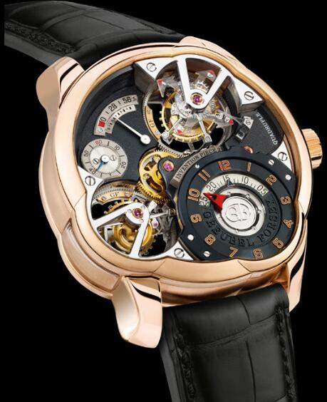 Greubel Forsey Invention Piece 2 Red Gold Replica Watch