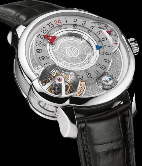 Greubel Forsey Invention Piece 3 White gold Replica Watch