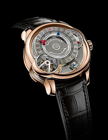Greubel Forsey Invention Piece 3 red gold Replica Watch