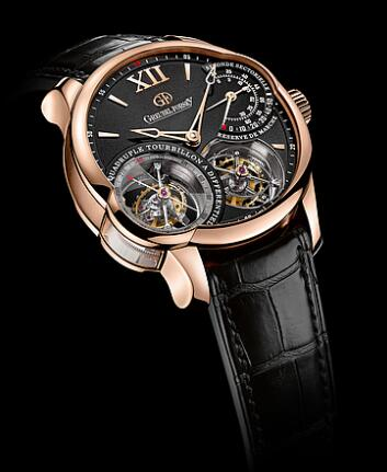 Greubel Forsey Quadruple Tourbillon red gold Replica Watch