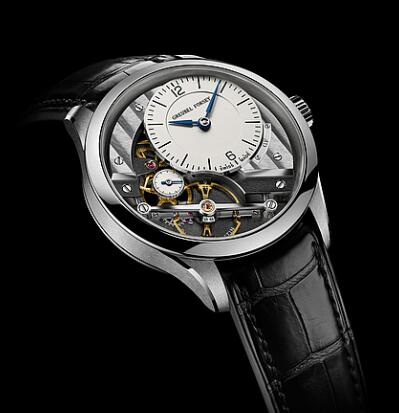 Greubel Forsey Signature 1 White gold silver Replica Watch