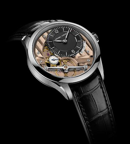 Greubel Forsey Signature 1 steel Black-anthracite gold Replica Watch