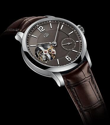 Greubel Forsey Tourbillon 24 Secondes Vision Chocolate gold dial Replica Watch