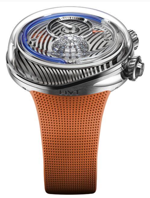 Buy HYT FLOW Blue Fluid H02464 Replica watch