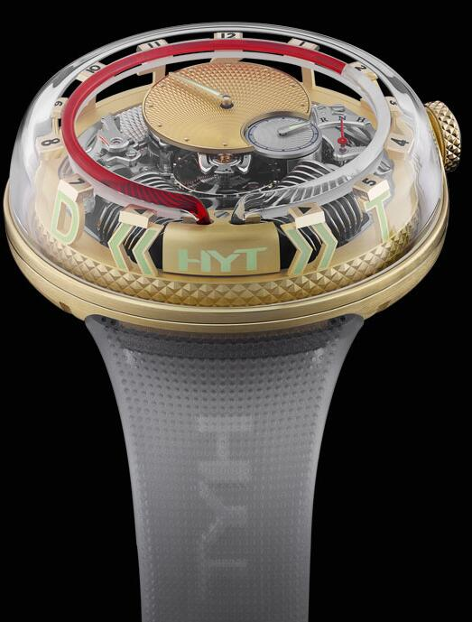 HYT H20 251-GD-465-RF-RU Replica watch