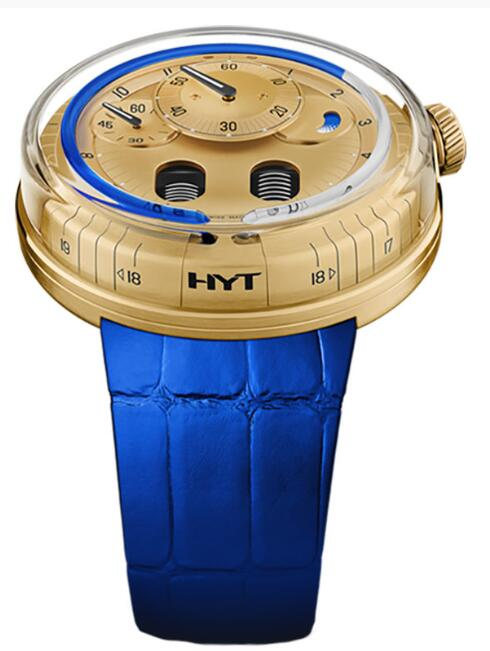 HYT H0 Gold 048-GD-94-BF-CR Replica watch