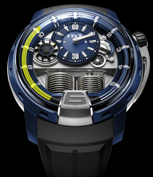 HYT H1 ALUMEN BLUE 148-AB-31-GF-RU Replica watch