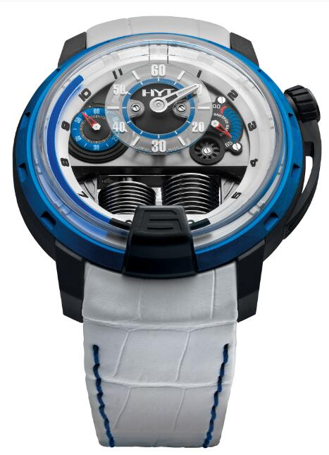 HYT H1 Antoine Griezmann 148-DB-07-BF-FW Replica watch
