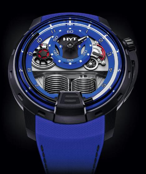HYT H1 Colorblock BLUE 148-TT-80-NF-FB Replica watch