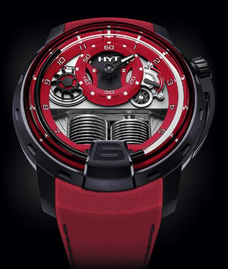 HYT H1 Colorblock RED 148-TT-80-NF-FR Replica watch