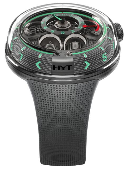 HYT H1.0 Black H02095-A Replica watch