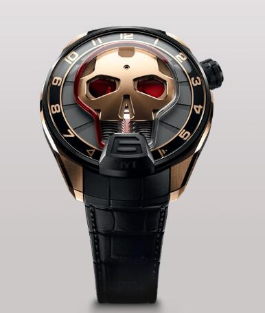 HYT SKULL 51 MM 151-DG-42-RF-AB Replica watch