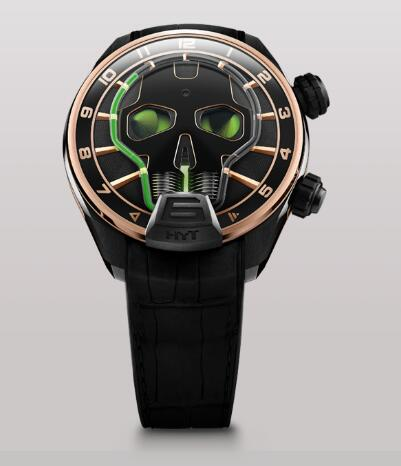 HYT 151-DG-44-GF-AB SKULL 51 MM Replica watch