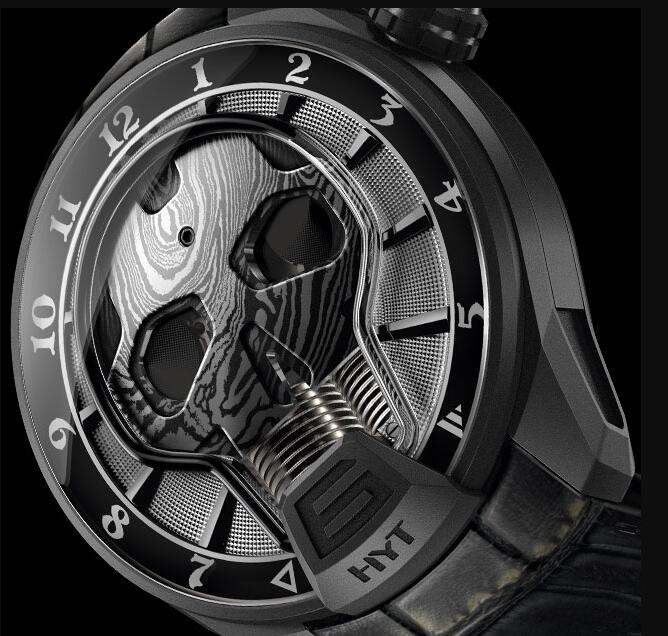 HYT 151-DL-43-NF-AS SKULL 51 MM Replica watch