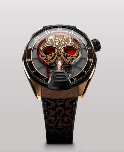 HYT 513-CB-43-RF-MV SKULL 51 MM Replica watch