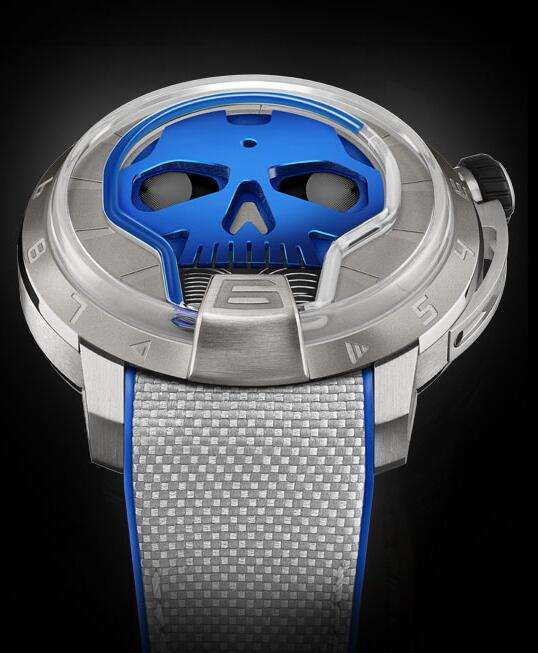 HYT S48-TT-33-BF-RA SKULL 48.8 MM Replica watch