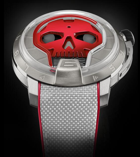 HYT S48-TT-34-RF-RA SKULL 48.8 MM Replica watch