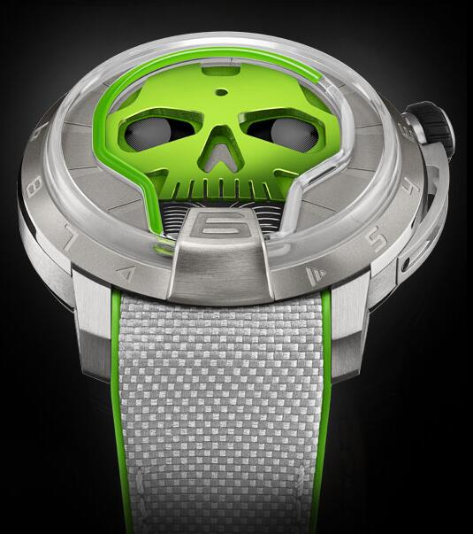 HYT S48-TT-35-GF-RA SKULL 48.8 MM Replica watch