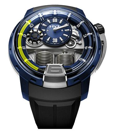 HYT 148-AB-31-GF-RU H1 ALU BLUE Replica watch