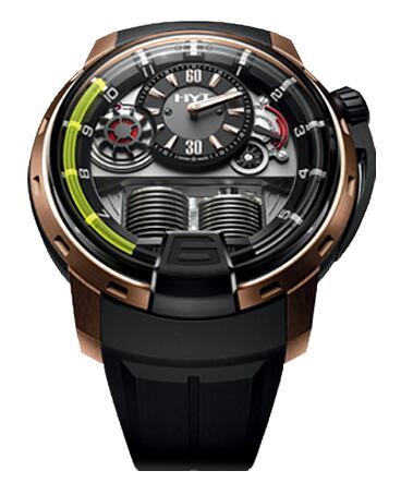 HYT 148-DG-22-GF-RU H1 Diamond dome chrysoberyl Replica watch