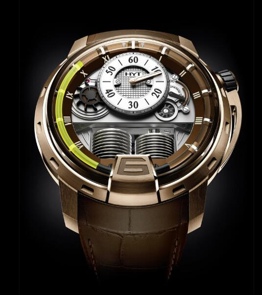HYT 148-PG-RO-GF-CR H1 PINK GOLD FACE LIFT Replica watch