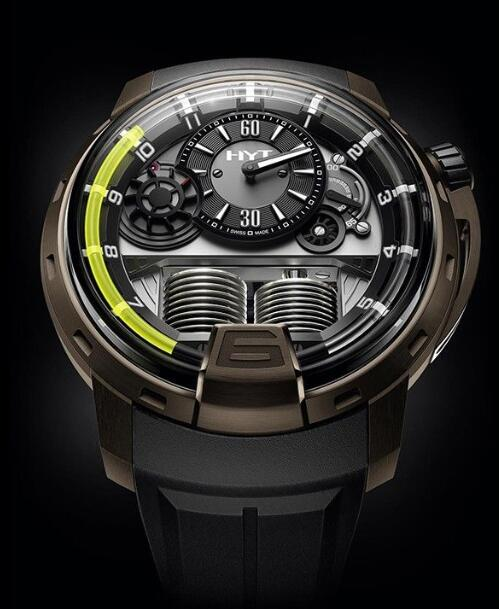 HYT 148-TB-21-GF-RU H1 TITANIUM BRONZE Replica watch